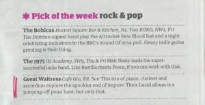 Great Waitress - The guardian - Jan 4 2014